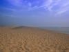 Dune avant le coucher de soleil