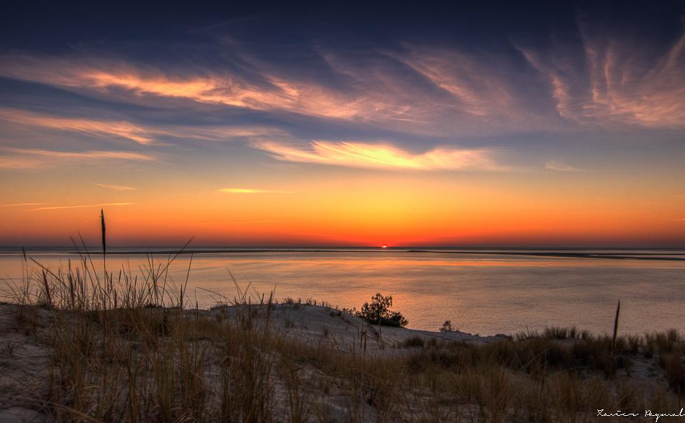 La dune du pilat au coucher de soleil - Photos coucher de soleil ...