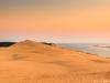 La dune du pyla plongé dans la lumière