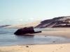 Blockaus au loin plage du Petit Nice